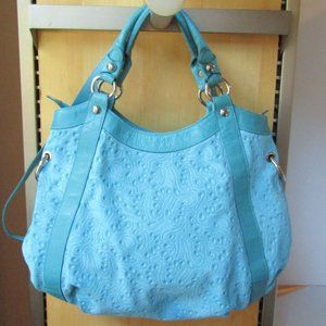 Claudia Firenze Italian Turquoise Suede To…